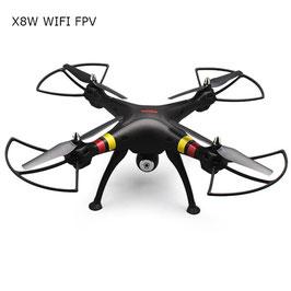 Quadricottero con videocamera fpv Dimensione : da 41 a 60 cm Batteria : lipo COD: X8W