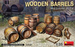 Wooden Barrels Medium Size COD: 35630