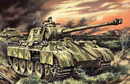 Pz.kpfw.v panther ausf.d, wwii german tank COD: ICM35361