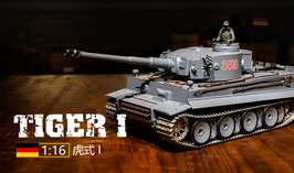 1/16 rc german tiger i heavy tank, COD: 3818-1
