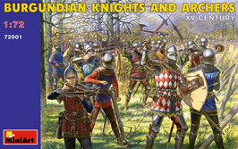 Burgundian Knights And Archers. Xv COD: 72001
