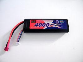BATTERIA LiPo 7,4V 4000mAh STICK TYPE 40C COD: BAL4000