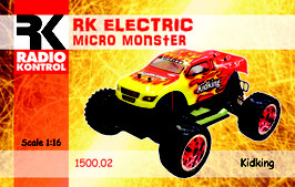 1/16 Electric Monster  COD:  1500-02