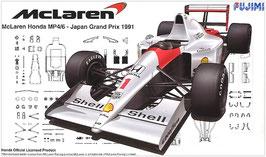 1/20 McLaren Honda MP4/6 1991 Japan GP San Marino/Brazil COD: 09213
