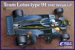 TEAM LOTUS TYPE 91 1982 COD: EB012