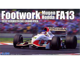 Footwork Mugen Honda FA13 F1 GP 1992. COD: 09067