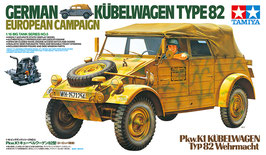 KUBELWAGEN TYPE 82 European Camp. COD: 36205