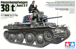 Pz.Kpfw.38(t) Ausf. E/F  COD: 35369