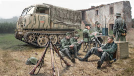 STEYR RSO/01 with GERMAN SOLDIERS COD: 6549