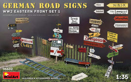 GERMAN ROAD SIGNS WW2 (EASTERN FRONT SET 1) COD: 35602