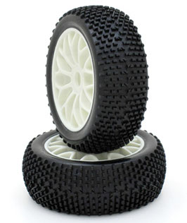 1/8 buggy y wheel tire set (2 pcs) COD: 674902W