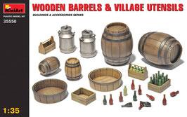 Botti in legno e utensili per la vita in campagna  COD: MA35550