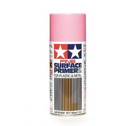 Fine Surface Primer L Pink - 180ml Spray Can Plastic/Metal COD: 87146