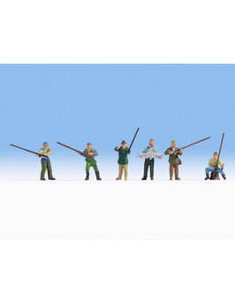 6 personaggi, pescatori COD: 15892