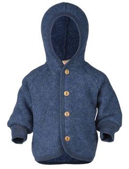 Baby-Kapuzenjacke blau