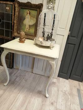 Mooie brocante queen Anne tafel, ideaal als bureau of kleine keukentafel, afmetingen 69 x 74 x 54 cm