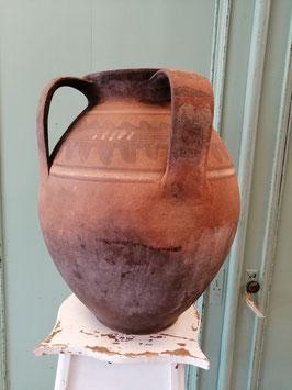 Grote antieke pot nr 7 afmetingen 34x 30 cm