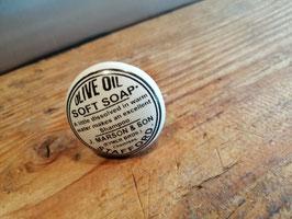 Knop soap zwart wit, 4 cm, prijs per stuk.