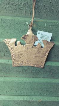 Leuk metalen kroontje van 14 cm breed, prijs per stuk