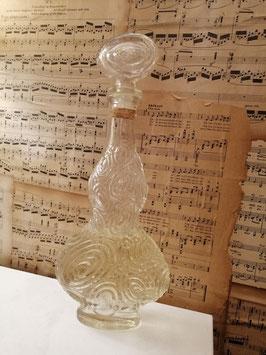 Grote brocante eau de cologne parfumfles, hoogte 30 cm
