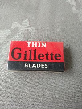 Complete verpakking oude Gilette scheermesjes
