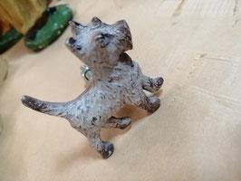 Knop ijzeren hond, 5 cm, prijs per stuk.