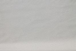 Baumwoll Popelin Tupfen Dots Punkte crème blau