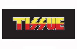 商品名TISSUE ロゴ入りフェイスタオル