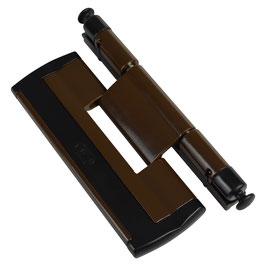 CAL Doublex H, Scharnierseiten-Sicherung, Farbe braun-schwarz