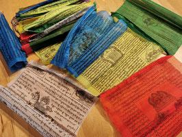 Tibetische Gebetsfahne mit 25 Fahnen