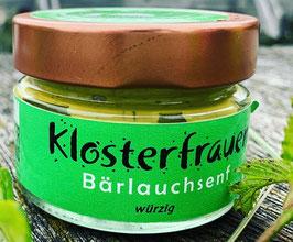"""""""Klosterfrau"""" - ein würziger Bärlauchsenf"""