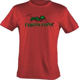 """T-Shirt, """"VERY BIG"""", Froschteich® Ameise, Aufdruck vorne"""