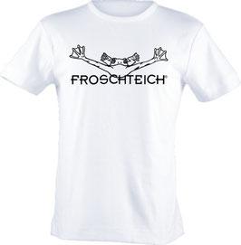 """T-Shirt, """"VERY BIG"""", Froschteich® Flugfrosch, Aufdruck vorne"""