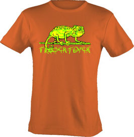 """T-Shirt, """"VERY BIG"""", Froschteich® Chamäleon, Aufdruck vorne"""