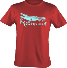 "T-Shirt, ""VERY BIG"", Froschteich® Alligator, Aufdruck vorne"