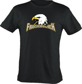 """T-Shirt, """"VERY BIG"""", Froschteich® Adler, Aufdruck vorne"""