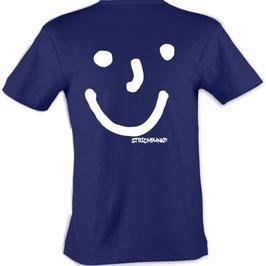 T-Shirt, unisex, Strichpunkt-Punkt Punkt Komma,  Aufdruck hinten