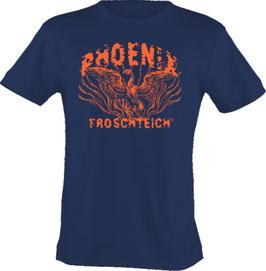 """T-Shirt, """"VERY BIG"""", Froschteich® Phoenix, Aufdruck vorne"""