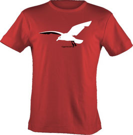 "T-Shirt, ""VERY BIG"", Froschteich® Dove, Aufdruck vorne"