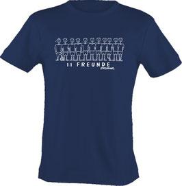 T-Shirt Kids, Strichpunkt-Elf Freunde,  Aufdruck vorne