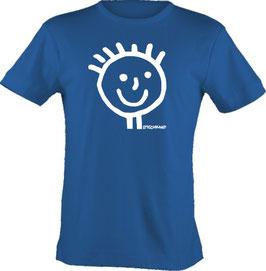 T-Shirt Kids, Strichpunkt-Head,  Aufdruck vorne