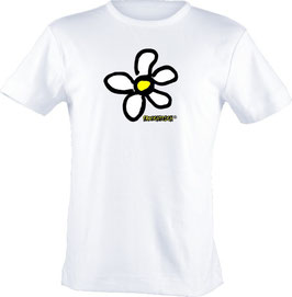 "T-Shirt, ""VERY BIG"", Froschteich® Flower, Aufdruck vorne"