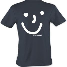T-Shirt, Strichpunkt-Punkt Punkt Komma,  Aufdruck hinten
