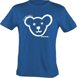 T-Shirt Kids, Strichpunkt-Hoffnungsbären-Kopf,  Aufdruck vorne