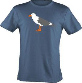 """T-Shirt, """"VERY BIG"""", Froschteich® Möwe, Aufdruck vorne"""