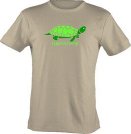 """T-Shirt, """"VERY BIG"""", Froschteich® Turtle, Aufdruck vorne"""