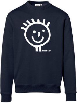 Sweatshirt, unisex, Strichpunkt-Head,  Aufdruck vorne
