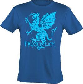 """T-Shirt, """"VERY BIG"""", Froschteich® Drache, Aufdruck vorne"""