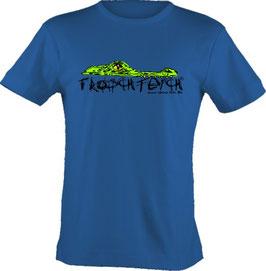 """T-Shirt, """"VERY BIG"""", Froschteich® Krokodil, Aufdruck vorne"""