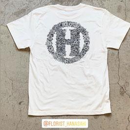 Botanical「H」T-Shirt(ホワイト)